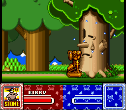 Kirby Super Star - Cut-Scene  - Golden Samus! - User Screenshot